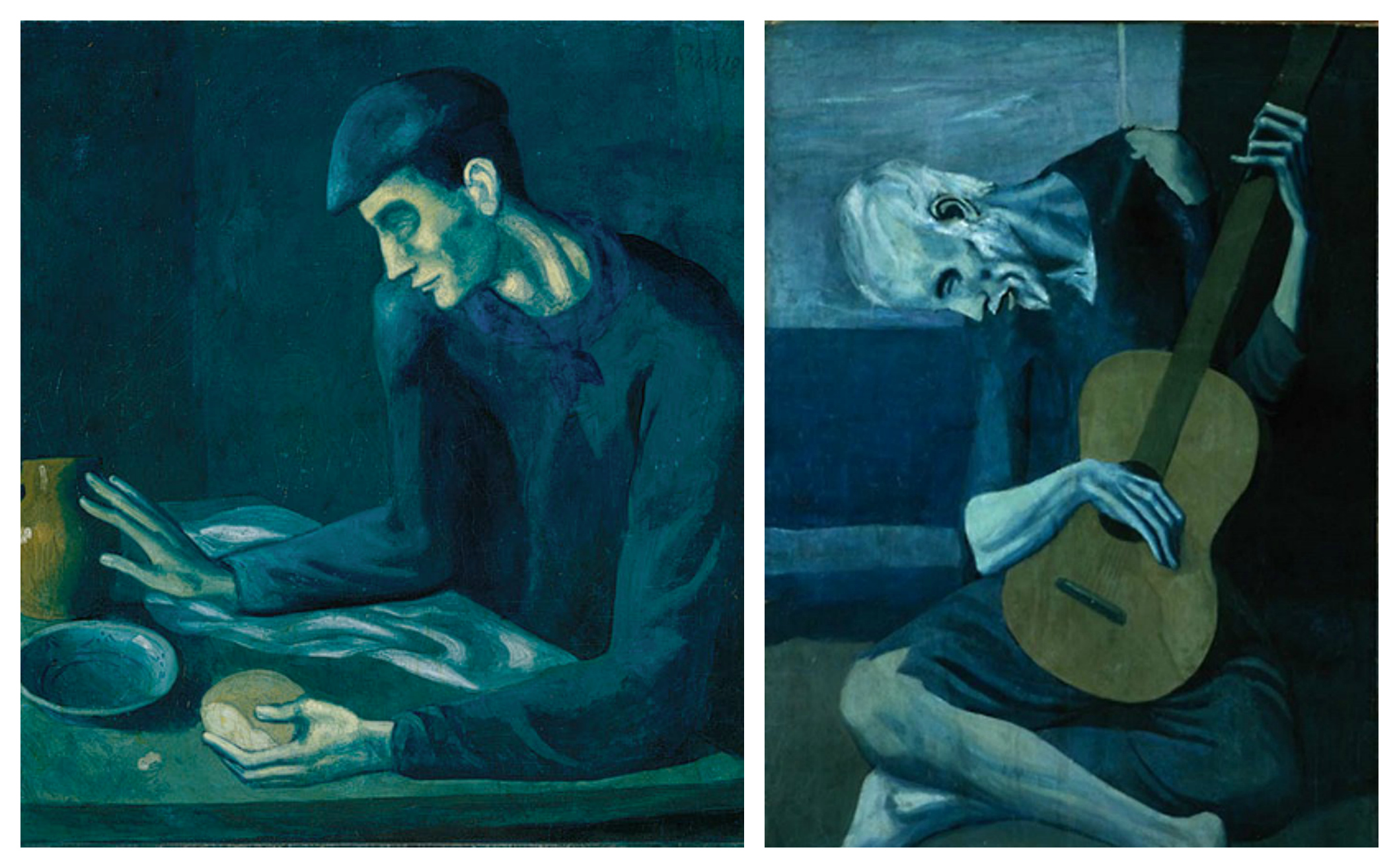 the old guitarist pablo picasso meaning